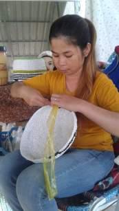 Photo Lady making basket1